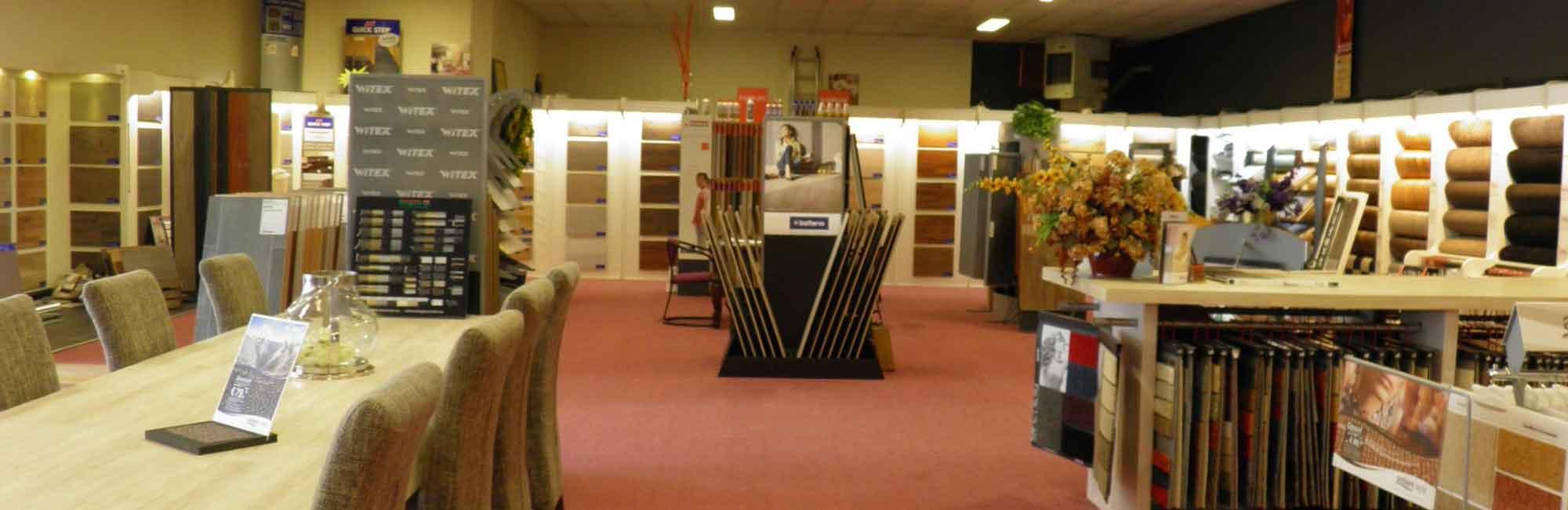 800m2 showroom - Tapijt Paradijs Oude Pekela